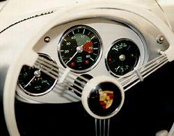 Palo Alto Speedometer Porsche 550 Spyder Gauges